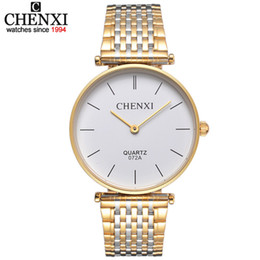 3498b2cb1d7c gifts for watch lovers 2019 - Ultrathin couple watches for men waterproof  stainless steel watch male