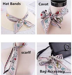 Nouveau Design De Mode Tarot Ruban Femmes Scarlf Cravat Cheveux Accessoires Sac Accessoire Tarot Motif Satin Bandeau Cheveux ? partir de fabricateur