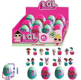 Wholesale Gifts For Girls - 12 pieces LOL Surprise Dolls Series 2 Lil Sisters Ball Dress Up Toys Christmas Gift For Girls Unpacking Doll Surprise Ball