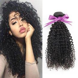 2019 lula menschliches haar Echtes menschliches Haar spinnt menschliche verworrene lockige Wellenhaarverlängerungen lockige brasilianische Haare 1 Bündel 100g 8A