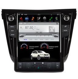 Canada 12,1 pouces écran vertical Android 7.1 lecteur de voiture de navigation GPS pour Nissan X-Trail 2013-2018 avec radio BT stéréo sans voiture DVD Offre