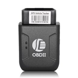 antena dji Desconto Mini GPS TK206 OBD 2 Tempo real GSM Quad Band Anti-roubo alarme vibratório GSM GPRS Mini GPRS Car Tracker Rastreamento OBD II