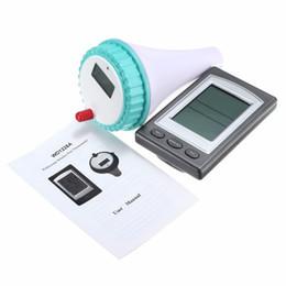 Wholesale digital lcd display thermometer - Wireless Floating Digital Waterproof Swimming Pool SPA Floating Thermometer Temperature Meter With Receiver LCD Display