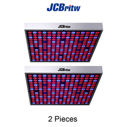 Wholesale Uv Greenhouse - JCBritw 45W LED Grow Light Full Spectrum(Red, Blue, IR and UV) for Indoor Plants Hydroponic Greenhouse Veg and Flower
