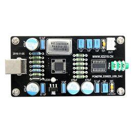 Wholesale Usb Dac Board - Aiyima PCM2706 ES9023 USB Audio DAC Sound Card Decoder Board HI-FI Zero Noise I2S Decoding wholesale
