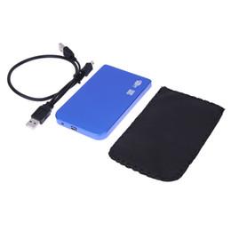 hdd festplatte extern Rabatt Ultradünne Protable 2,5-Zoll-USB 2.0-HDD-Festplatte SATA-Gehäuse für externe Speichergehäuse Unterstützung für 1 TB-Festplatte