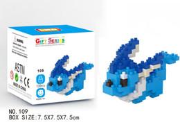 Briques de Construction de Bande Dessinée Bloc Puzzle Jouets 20 Styles DIY Charmander Jeni Tortue Action Figure Jouets Jouets Éducatifs pour Enfants ? partir de fabricateur