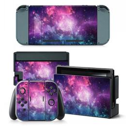 calcomanías para xbox one Rebajas eXtremeRate Juego completo de pegatinas para pegatinas en la piel para Nintendo Switch, adhesivo para todo el cuerpo en color brillante para la consola del interruptor