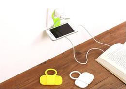Cargador de pared plegable online-Adaptador de cargador de pared plegable Soporte de cargador de cargador de teléfono móvil de carga de teléfono celular MP3 para tamaño inferior a 4,5 ''