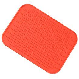Le meilleur Petit support de pot de silicone résistant à la chaleur de support de pot de silicone régale des napperons de patin de patin (rouge) ? partir de fabricateur