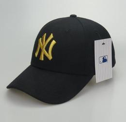 Wholesale new ny caps - 2018 New NY Baseball Caps Hiphop Men Women Adjustable Hats 3D embroidery MLB New York Yankees Snapback Cap Headware