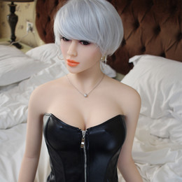 Wholesale Real Japan Sex Doll - 158cm Japan vagina real pussy adult silicone sex dolls Real Lovely Big Breast Boobs Oral vagina TPE love doll for men