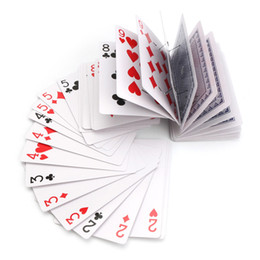 Wholesale Invisible Cards - Entertainment Magic Trick Prop Elevator Poker Party Games Fun Gifts Toys Club Casino Props Invisible Thread Waterfall Cards