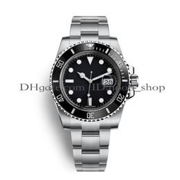 Reloj deportivo para hombre impermeable online-Relojes de lujo para hombre Top hombre Reloj deportivo de lujo de calidad Asia 2813 40 mm de acero inoxidable mecánico automático relojes luminosos impermeable 30 M