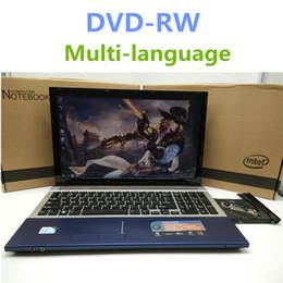 Dvd 18 онлайн-1920*1080P 15-дюймовый игровой ноутбук ноутбук ноутбук с DVD 8G DDR3 Ram 500G HDD In-tel J1900 Quad Core 2.0 Ghz WIFI веб-камера HDMI