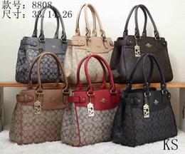 dc3c5595e6d9 Famous Brand Women Bags PU Leather Handbags Famous Designer Brand Bags  Purse Shoulder Tote Bag Wallet 8808 mk