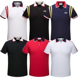 Canada 2019 Italie De mode classique De Luxe designer Marque nouveaux hommes polo t shirts à manches courtes broderie Lettre mens polos 3XL Offre