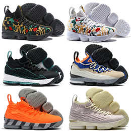 Argentina 2018 Kith 15 XV Three Kings Lifestyle Performance Concrete Long Live the King Calzado de baloncesto para hombre 15s Pink Griffey Trainers Sneakers 7-12 cheap shoes for concrete Suministro