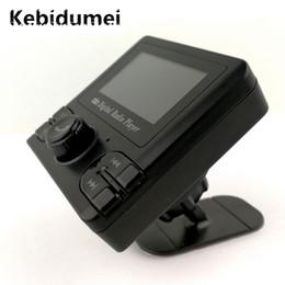 2019 radio batería del coche Sintonizador de radio sintonizador Kebidumei con Bluetooth Car Receptor de radio DAB sintonizador LCD Adaptador de FM Cargador USB con antena rebajas radio batería del coche