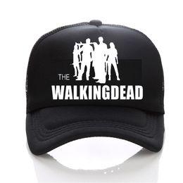 Wholesale carol red - AMC Teleplay The Walking Dead Rick Daryl Glenn Carl Maggie Carol baseball cap Adjustable mesh trucker cap
