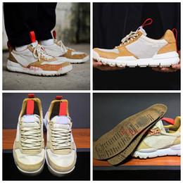 Wholesale craft medium - Tom Sachs x Craft Mars Yard 2.0 TS NASA Running Shoes Women Men AA2261-100 Natural Sport Red Sneaker Designer Shoe Zapatillas Vintage