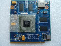 Tarjeta de video hdmi online-GT330M GT 330M N11P-GE1-A3 1G KSKAA LS-5005P MXM II DDR3 Tarjeta de video VGA para laptop TOSHIBA A500 L550