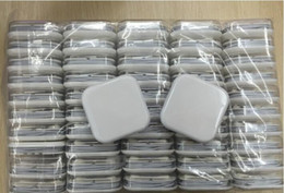 Wholesale Earphones Jack White - 50 pcs lot Earphones For i5 i6 i6s Headset for Jack In Ear wired With Mic Volume Control 3.5mm White With Retail Box