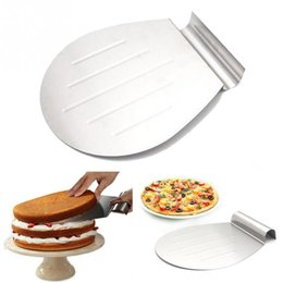 Wholesale Moving Tools - Stainless Steel Transfer Tray Moving Plate Cake Lifter Shovel Pastry Baking Tool
