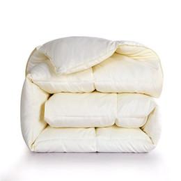 Couette en coton jumelé en Ligne-Couverture en duvet d'hiver en duvet d'oie blanche de Sinonics Couverture de couette en coton beige