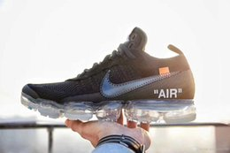 Wholesale faster women - 2018 New Vapormax Flagship Casual Shoes White Men Women Vapormaxs Fast Furious runner trainers off shoes Sneakers Size Eur36-46