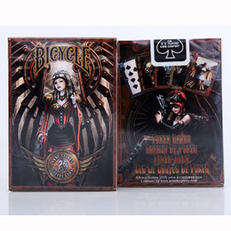 Wholesale Bicycle Deck Cards - Bicycle Anne Stokes Steampunk Deck Magic Cards Playing Cards Magic Props Close Up Magic Tricks for Professional Magician OOA4511