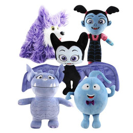 Wholesale statues for home - Cartoon Gregoria Demi Bat Plush Toy Soft Stuffed Doll Gift for Kids Party Favour Figure Home Decoration NNA422