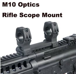 montaje del anillo del tejedor del alcance del rifle Rebajas Tactical Ultra High M10 Optics Rifle Scope Mount QD Anillos de montaje 1