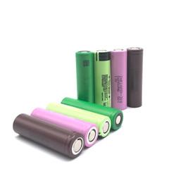Hochwertige HG2 30Q 3000mAh NCR18650B 3400mAh VTC5 2600mAh 18650 Batterie mit mit Kastenpaket E Cig Mods wiederaufladbare Li-Ion Zelle 01 von Fabrikanten