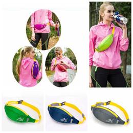 Wholesale Running Bum Bag - Running Travel Waist Pocket Jogging Sports Portable Waterproof Cycling Bum Outdoor Phone Pack Belt Sport Bag OOA4651