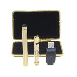 Avançado cartucho de vidro de Ouro o pen ce3 bateria Kit Vaporizador caneta Cartucho Vapor caneta WAX grosso tanque de óleo e cigs vape de