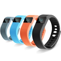 Wholesale Iphone Os - TW64 Fitness Tracker Bluetooth Smartband Sport Bracelet Smart Band Wristband Pedometer For iPhone IOS Android PK Fitbit