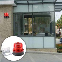 Стробоскопия онлайн-Outdoor Portable Solar Powered Light Sensitive Strobe Flash Warning Car Vehicle Magnetic Mounted LED Caution Lamp