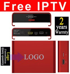 Wholesale Movie Streams - 50pcs Custom Made T95u 3GB 32GB with fully IPTV streaming watching thousands live tv movies and tv shows Android6.0 7.1 TV box