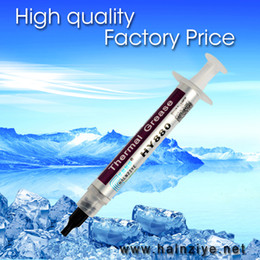 Wholesale Thermal Compound Processor - Wholesale- Best performance and quality silicone thermal grease HY880 tube 3g thermal compound conductive thermal paste