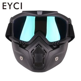 Argentina Riding Biker Goggles Motocicleta Cruiser Scooter Eyes Protector Outdoor Suministro