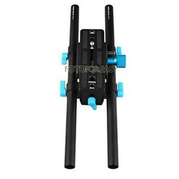 Montaje en carril de 15mm online-FOTGA DP3000 15mm Rail Rod Advanced QR Baseplate Mount para DSLR Follow Focus Rig