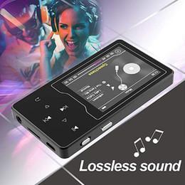 2019 ebook mp3 player HIFI Bluetooth MP3 Player Metal Corps 2.4in Écran 16G Construit dans le Président Sans Perte Son Lecteur de Musique Avec Radio FM, Ebook, Carte TF ebook mp3 player pas cher