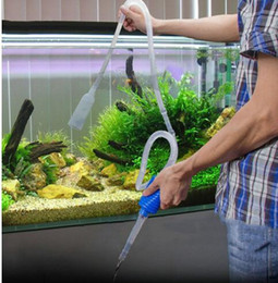 Wholesale Fish Tanks Pumps - Aquarium Clean Vacuum Water Change Gravel Cleaner Fish Tank Siphon Pump Filter Siphon Gravel Cleaner Fish Tank Pump Filter KKA3890