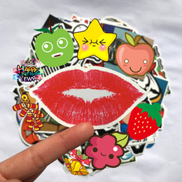 sticker bikes Promo Codes - 100 pcs Car Styling decal Stickers for Graffiti Car Covers Skateboard Snowboard Motorcycle Bike Laptop Sticker Bomb Accessories Vinyl Decal