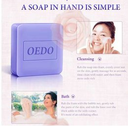 Wholesale lavender soaps - Lavender Extract Moisturizing Handmade Soap Deep Cleaning Brighten Skin tone Face Care Improve the Pores Beauty Health Soap