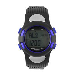 Compteurs de calories en Ligne-Moniteur de fréquence cardiaque numérique Montre Pulse Meter Sport Calorie Tester Business Casual relogio A40