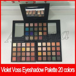 Paleta de violeta voss online-2017 Hot VIOLET VOSS My Holy Grail Pro Eyeshadow Palette Edición Limitada 20 colores paleta de sombras de ojos