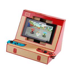 Caja de interruptores de bricolaje Labo Toy Soporte plegable Soporte de Labo Soporte de cartón Soporte de Arcade Para NS Interruptor DHL libre desde fabricantes