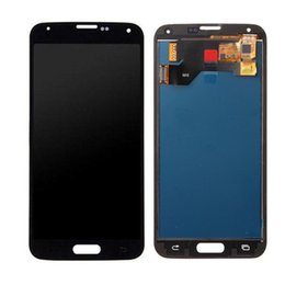 Para samsung galaxy s5 g900 i9600 display lcd touch screen digitador assembléia branco e preto tft de Fornecedores de samsung s5 display
